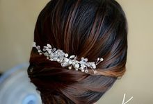 Engagement Hairdo for Ms. Tata by Hairdo by Kevin