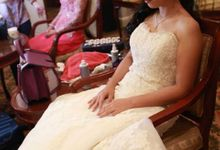Dian + Steve Wedding by Moisel Makeup