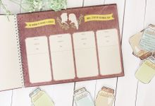 WEDDING GUESTBOOK by The Bride and Butter