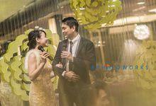 Medy & Patrick Wedding dinner by 8photoworks