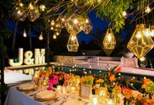 J&M Rustic Glam Cliff Top Wedding by Hari Indah Wedding Planning & Design