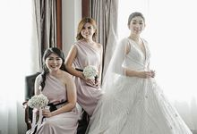 Adi & Octavia Wedding by METTA FEBRIYAN bridal & couture