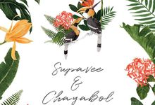 WED Swpvee&Chayabol by phuketselfieprint