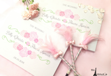 Billy & Floura - Pink Floral wedding themed detail by 96th Avenues