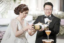 Adi & Octavia Wedding by METTA FEBRIYAN bridal & couture
