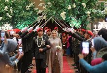 The Wedding of Gadis & Gafa by Kanye Kebaya