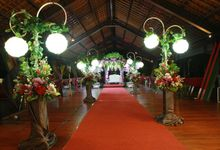Wedding indoor Golf Course by KLUB GOLF BOGOR RAYA