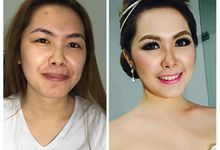 Before & After Makeup by Kenshie Lie MUA