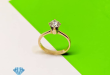 Diamond Ring Solitare Fashion CBS7795 by Clarity Jewellery
