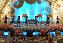 Harris Hotel - Silver Blue Gown by Various Dance Enterprise