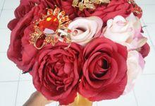 Wedding Bouquet by Dandelion Flower Specialist