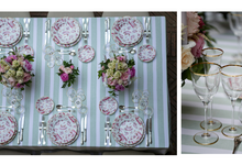 Flowers and stripes by C&G Wedding and Event Designer