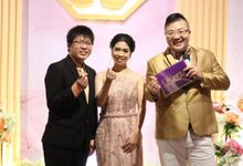 ENGAGEMENT DAY OF CHELSEA & YUSAK by JIMMY & LIECHEN MC and Magician Wedding Specialist