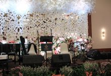 Double V wedding entertainment Millenium Hotel Jakarta by Anthony Stevven