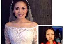 Before - After by aiLie make up studio
