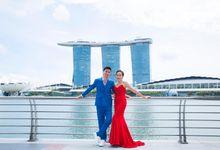Zheng Chi & Hubby 25th Anniversary Photoshoot by Luxe Wardrobe