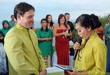 MC Australian Indo Wedding Sonya Melani and Nicholas Keane at Chateau de Anderson by MC Rendy Rustam