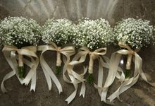 Baby Breath Bouquet by Aesthetic Florist