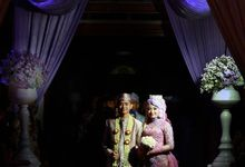 Atika & Cahyo wedding ceremony - reception by Caramel's Photography