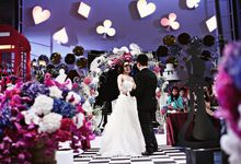 A Spin-Off from Alice in Wonderland by Spellbound Weddings