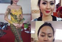 Jegeg Bagus Bali Event at Art Centre Bali by Allena Make Up