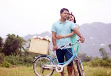 Flower Farm Prenup by Happy Face Photography