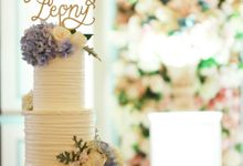 Wedding Cake - Alfred & Leony by Lareia Cake & Co.