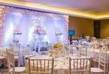 Dinner Decoration Wedding Ferlina & Stephen by Bali Izatta Wedding Planner & Wedding Florist Decorator