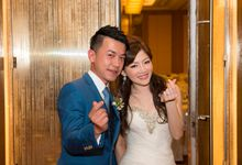 Singapore Actual Day Wedding - Alvin & Nicole - Banquet at MBS by MamboStevie Photography Mo-Works