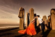 Pre Wedding of Angel and Michael by Exquise Gowns