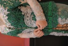 new collection : kebaya hijau silver by Natural Moslem
