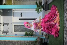 new collection : ballgown shocking Pink by Natural Moslem