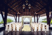 Beautiful wedding of Amy and Paul at Vana Belle Luxury Collection Resort Koh Samui by BLISS Events & Weddings Thailand