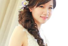 Bridal Airbrush Makeup and Hairstyling - Natural, Chic, Sweet and Pleasant by Sylvia Koh Makeup and Hairstyling