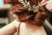 Bridal Airbrush Makeup and Hairstyling - Romantic, Chic, Fairytale, Bohemian by Sylvia Koh Makeup and Hairstyling