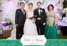 The Wedding of Andi & Renny by Cinnamon Photocorner