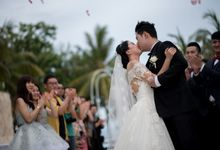 The Wedding of  Zhang Shenyi & Qiuyan by Lestari Bali Pawiwahan