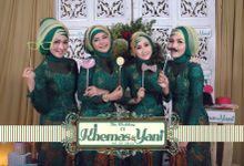 Wedding of Khemas & Yani by Woodenbox Photocorner