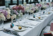 Romantic Grey & Pink by Jovita Lo Weddings