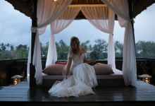 Mr Andrew and Mrs Tamara by Kamandalu Ubud