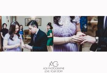 ROM Solemnisation for Alicia & Daniel by Agx Photographie