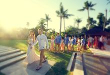 Ali and Mitchs Wedding by Plan A | Bali Event Planners