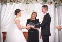 Recent testimonials from brides by Michelle Anderson (Michell e brant) Celebrant