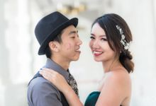 Style Singapore Pre-Wedding Photoshoot for Andrew & Valerie by DTPictures