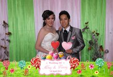 Wedding of Abuy & Venny by Funtaspict Photobooth