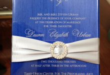 Acrylic Wedding Inviations by Ink and Elegance