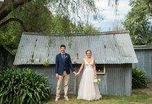 Real Wedding-  Rustic Country by Green Scarf Girl