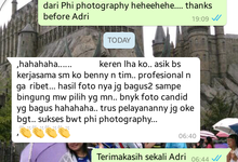 Client Testimony by PhiPhotography