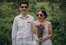 Agnetta & Akbar Engagement by Hieros Photography