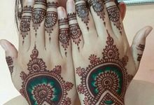Ethnic Red Henna by Meby Henna Art